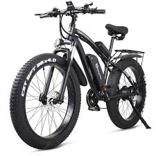 Electric Bike 1000W Mens Mountain Bike Snow Bike Electric Bicycle ...