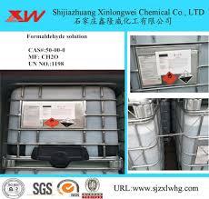 <b>Hot Sales Formaldehyde</b> Solution CH2o, Un <b>No</b>. 1198 - China ...