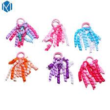 <b>M MISM 1</b> Pair Cute Colorful Ribbon Roll Gum For Hair Accessories ...