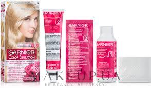 Стойкая крем-<b>краска для волос</b> - <b>Garnier</b> Color Sensation: купить ...