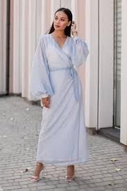 Нежно-голубое платье в горошек - buy at the price of 5,996.00 руб ...