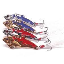 <b>1pcs Metal VIB</b> Fishing <b>Lure</b> 6cm 12g Pike Bass Artificial Hard <b>Bait</b> ...