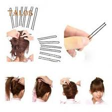 <b>50Pcs</b> Women's Invisible <b>Flat</b> Top Waved Pins Grips <b>Hair Clips</b> ...