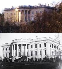 White House   WikipediaThe Château de Rastignac compared to the South Portico of the White House  ca