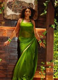 Fabboom <b>New</b> Richa Gangopadhyay In ParrotGreen Saree. Rs 745 ...