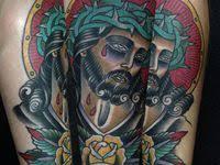 18 American Traditional <b>Jesus Christ</b> Tattoo ideas   <b>christ</b> tattoo ...
