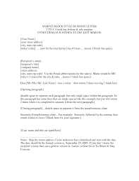 block style letter template resume templates  application