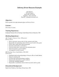 driver resumes anuvrat info cdl b resume sample samples driver delivery driver bus driver