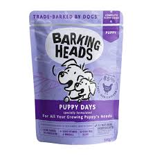 <b>Barking Heads</b> паучи для щенков «<b>Щенячьи</b> деньки», Puppy Days ...