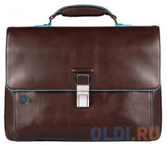 <b>Портфель</b> Piquadro <b>Blue Square</b> кожа <b>CA3111B2</b>/<b>MO</b> — купить по ...