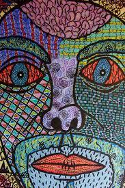 turning dark destructive realities of life into constructive art jobs