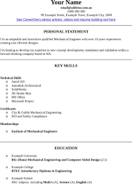 mechanical engineer cv template for excel  pdf and wordmechanical engineer cv template