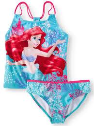 <b>Disney Princess</b> - <b>Ariel</b> Mermaid Tankini Swimsuit (<b>Little Girls</b> & Big ...