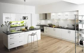white kitchen designs wood floors