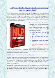 nlp s books effective tools for enhancing your persuasion skills