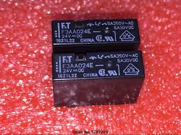 Free Shipping <b>100</b>% <b>new original</b> relay 10pcs F3AA024E 24V 4PIN ...