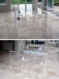dining table acrylic perspex furniture