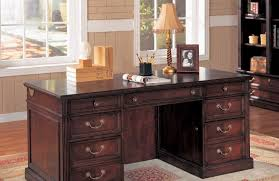 cherry glass home office home office wood traditional desc executive chair gray novelty bookcases pine glass filing cherry wood home office