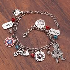 MIDY Мстители 4 <b>браслеты</b> супергерой Капитан <b>Марвел</b> Доктор ...
