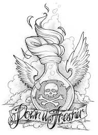 <b>Cool skull</b> bottle