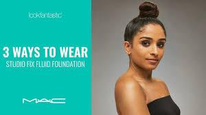3 Ways To Wear MAC Studio <b>Fix Fluid</b> Foundation | lookfantastic ...