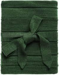 Необычные <b>пледы</b> зеленые из акрила PLEAT с символикой ...