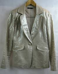 <b>Jo</b> Borkett Size 34 <b>Gold</b> Linen Formal Trouser Suit | eBay
