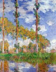 Poplar Series by Claude <b>Monet</b>