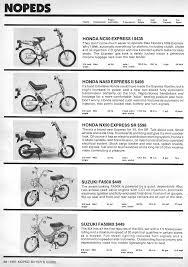 1981 buyers guide myrons mopeds honda nc50 express honda na50 express ii honda nx50 express sr suzuki fa50 shuttle suzuki fa50m 20mph