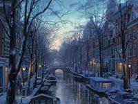 новогодняя <b>ночь</b>: лучшие изображения (12)   Paintings, Paisajes и ...