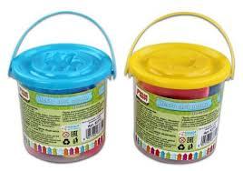 <b>Тесто</b> для лепки <b>Color Puppy</b> 12 цветов 80г формочка ролик 63772
