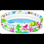 <b>Надувной</b> детский <b>бассейн Jilong SEA</b> WORLD 91х25см,возраст ...
