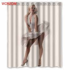 <b>WONZOM Polyester Fabric</b> Skull Man Curtains with 12 Hooks For ...