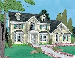 Old Style Family Farmhouse   TM   nd Floor Master Suite    Plan TM