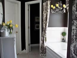 grey bathroom designs black