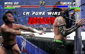 Jeff Hardy VS CM Punk | FINISH HIM! / Fatality | Know Your Meme via Relatably.com