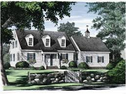 Cape Cod House Plans at Dream Home Source   Cape Cod Home Plans    Temp