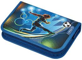 <b>Herlitz Пенал Soccer</b> с наполнением 31 предмет — купить в ...