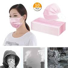 Embroidery Home <b>Face</b> Dust-Filter,<b>50 Pcs 3 Layer</b> Breathable ...