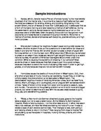 power lessons this i believe essays sample essay introductions