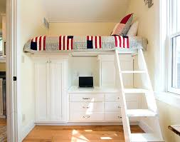 cool modern loft bed for adult with office space and nice drawers bunk bed office space