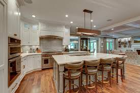 itb grand inspiration for a large transitional u shaped open concept kitchen remodel in raleigh with modern kitchen lighting awesome modern kitchen lighting ideas white