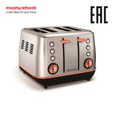 <b>Тостер Morphy Richards</b> Evoke <b>4</b> slice и премиальные Evoke Rose ...