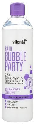 Купить <b>Гель</b>-<b>пена для ванны и</b> душа Vilenta Bath bubble party Для ...