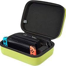 AmazonBasics Hard Shell Travel and Storage Case <b>for Nintendo</b>
