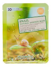 <b>Тканевая 3D маска с</b> экстрактом секрета улитки Snail Natural ...