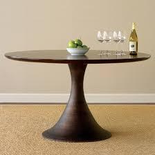 pedestal dining table room simple