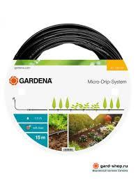 <b>Шланг</b> Gardena <b>сочащийся</b> для наземной прокладки 4.6 мм (3/16 ...