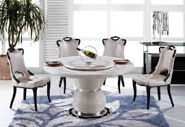 round white marble dining table: picture of quot round marble dining table with lazy susan t
