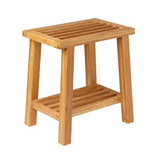image quarter bamboo bathroom stool alternate image  quarter bamboo bathroom stool alternate image